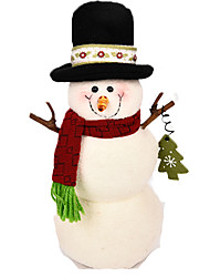 cheap -Snowman Christmas Decorations / Christmas Gift Lovely / Furnishing Articles Cartoon / High Quality / Fashion Textile Boys' / Girls' Gift