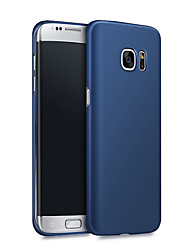 cheap -Case For Samsung Galaxy S8 Plus / S8 / S7 edge Shockproof / Ultra-thin Back Cover Solid Colored Hard PC