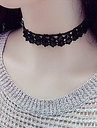 cheap -Women's Choker Necklace Personalized Fashion Lace Black Necklace Jewelry For Wedding Party Daily Casual