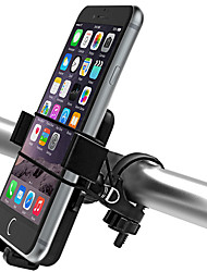 cheap -Bike Phone Mount Adjustable Ultra Light (UL) Non-Skid for Road Bike Mountain Bike MTB ABS iPhone X iPhone XS iPhone XR Cycling Bicycle Black 2 pcs