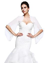 preiswerte -Boleros Chiffon Hochzeit / Party Wickeltücher für Frauen Mit