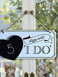 cheap -Wedding / Birthday / Engagement Wood Wedding Decorations Garden Theme Spring / Summer / Fall
