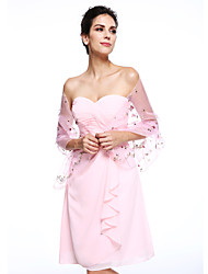 cheap -Organza Wedding / Party Evening Women's Wrap With Shawls
