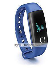 cheap -Aceaide HR08 Heart Bracelet Intelligent Sleep Heart Rate Pedometer Precise Black Red Blue Orange