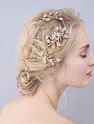 cheap -Rhinestone / Alloy Hair Clip / Barrette with 1 Wedding / Special Occasion Headpiece