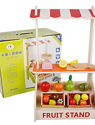 cheap -Pretend Play Play Kitchen Cutting Play Food Apple Novelty Wooden Kid's Girls' Toy Gift 1 pcs