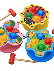 cheap -Hammering / Pounding Toy Baby & Toddler Toy Stress Reliever Wooden Novelty Education Kid's Boys' Girls' Toys Gifts