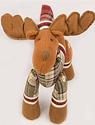 cheap -Elk Deer Christmas Decorations Lovely Furnishing Articles Cartoon High Quality Fashion Textile Boys' Girls' Toy Gift