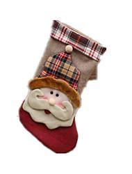 cheap -Holiday Props / Holiday Supplies / Holiday Decorations Holiday Supplies Santa Suits / Elk / Snowman Cloth / Textile / Plush