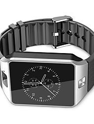 Недорогие -Смарт Часы для iOS / Android Хендс-фри звонки / Сенсорный экран / Фотоаппарат / Педометры / Контроль сообщений / Секундомер / 2 мегапикс. / Датчик для отслеживания активности / Сидячий Напоминание