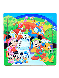 cheap -Jigsaw Puzzle Wooden Puzzle Wooden Model Wooden 20 pcs Kid's Adults' Boys' Girls' Toy Gift