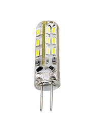 cheap -1 piece 1.5W G4 LED Bulb Bi-pin 24 SMD 3014 DC 12V  Green Blue Red Light