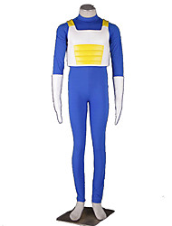 cheap -Inspired by Dragon Ball Cosplay Anime Cosplay Costumes Japanese Cosplay Suits Solid Colored Vest / Leotard / Onesie / Gloves For Men's