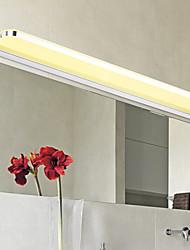 Недорогие -современная / современная ванная комната освещение металлический настенный светильник 110-120 В / 220-240 В / светодиодный встроенный светильник