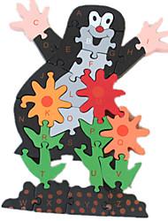 Недорогие -1 pcs Пазлы Деревянные пазлы Деревянные игрушки карта деревянный Детские Взрослые Игрушки Подарок