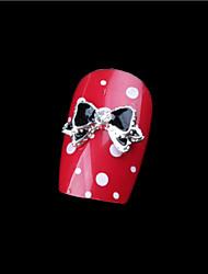 cheap -5-pcs-manicure-alloy-jewelry-set-auger-drop-glaze-bowknot-nail-metal-accessories