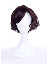 cheap -Synthetic Wig Curly Curly Wig Brown Synthetic Hair Women's Brown