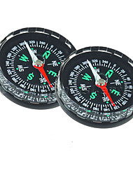 cheap -Compasses Directional Multi Function Plastic Hiking Camping Outdoor Travel