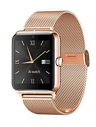 Недорогие -Z50 стали смарт-часы Bluetooth Поддержка фитнес-трекер уведомлять / монитор сердечного ритма / SIM-карты спортивные SmartWatch совместимые телефоны Apple / Samsung / Android