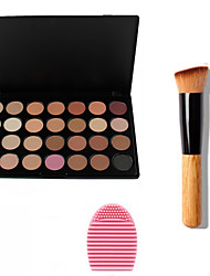 cheap -28 Colors Powders Bronzers Highlighters 1 pcs Dry / Matte / Shimmer Waterproof / Breathable / Whitening Face China Makeup Cosmetic