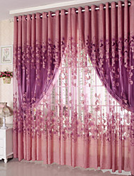cheap -Country Sheer Curtains Shades Two Panels Living Room   Curtains