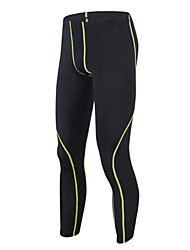 cheap -GETMOVING Men's Running Tights Compression Pants Gym Leggings Spandex Sports Winter Tracksuit Compression Clothing Fitness Gym Workout Exercise Quick Dry Anatomic Design Moisture Permeability Plus