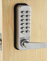 cheap -Mechanical Password Door Handle Lock Bedroom Code Locks