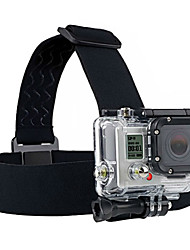 cheap -black camera fixed headband for gopro hero2 hero3