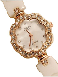cheap -Women's Wrist Watch Quartz White Cool Analog Casual - White