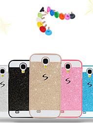 cheap -Case For Samsung Galaxy S7 edge / S7 / S6 edge plus Pattern Back Cover Glitter Shine PC