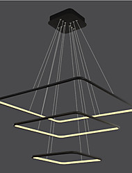 cheap -Modern/Contemporary Traditional/Classic Dimmable LED Geometric Pendant Light Ambient Light For Living Room Bedroom Dining Room Study Room/Office