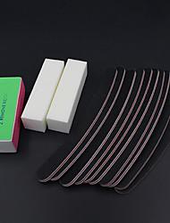 Недорогие -Наждак губка Инструменты для маникюра Мини Простой Классика Повседневные Файлы и буферы для ногтей для Маникюр