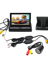 cheap -4.3 inch LCD Car Rear View Kit Waterproof / Night Vision / Wireless for Car