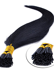 "cheap -16"" Medium Brown(#4) 100S Stick Tip Human Hair Extensions"