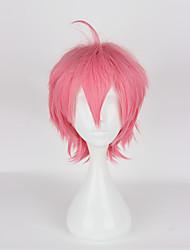 cheap -Cosplay Cosplay Cosplay Wigs Women's 14 inch Heat Resistant Fiber Pink Anime