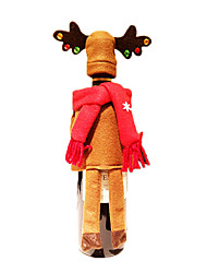 cheap -Christmas Decorations Christmas Party Supplies Elk Textile Toy Gift 2 pcs
