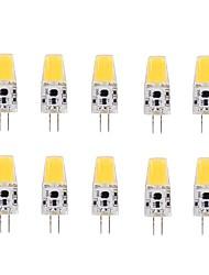 cheap -LED Corn Lights 220-240 lm G4 T 1 LED Beads COB Warm White 12 V / 10 pcs