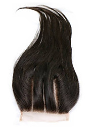 cheap -kinky straight Classic Straight Human Hair Free Part Middle Part 3 Part High Quality Daily