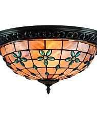 cheap -CXYlight 4-Light 40 cm Mini Style Flush Mount Lights Metal Shell Painted Finishes Tiffany / Modern Contemporary / Retro 110-120V / 220-240V / E26 / E27