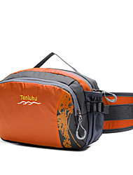 cheap -Fanny Pack Waist Bag / Waist pack Running Pack 1.5 L for Camping / Hiking Traveling Sports Bag Breathable Moistureproof Wearable Running Bag