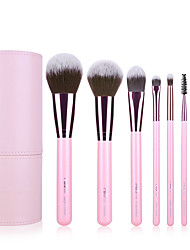 cheap -Professional Makeup Brushes Makeup Brush Set 8pcs Portable Travel Eco-friendly Professional Full Coverage Limits Bacteria Wood Makeup Brushes for