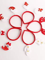 cheap -Christmas Decorations Christmas Party Supplies Santa Suits Elk Textile Toy Gift 5 pcs