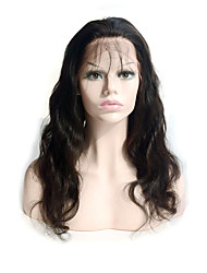 cheap -Human Hair Glueless Full Lace Full Lace Wig style Brazilian Hair Body Wave Wig 130% Density with Baby Hair Natural Hairline African American Wig 100% Hand Tied Women's Short Medium Length Long Human