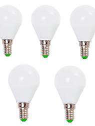 cheap -5pcs 7 W LED Globe Bulbs 800 lm E14 E26 / E27 G45 12 LED Beads SMD 2835 Decorative Warm White Cold White 220-240 V 110-130 V / 5 pcs / RoHS / CCC / ERP / LVD