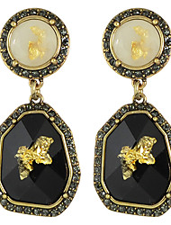 cheap -Women's Drop Earrings Statement Ladies Fashion Earrings Jewelry Black For Wedding