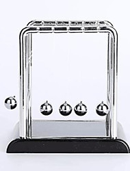 cheap -Balls Newton Cradle Balance Ball Classic Metalic Stainless Steel Plastic Boys' Girls' Toy Gift