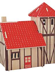 Недорогие -Пазлы Деревянные пазлы Строительные блоки DIY игрушки Сфера Лошадь 1 Дерево Со стразами Модели и конструкторы