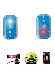 cheap -Bike Light Rechargeable Bike Light Set Rear Bike Tail Light Safety Light Mountain Bike MTB Bicycle Cycling Waterproof Portable Color-Changing Warning Rechargeable USB Color-changing Camping / Hiking