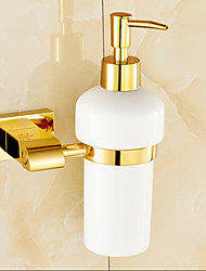 cheap -Soap Dispenser Contemporary Brass 1 pc - Bathroom