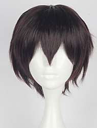 cheap -Cosplay Cosplay Cosplay Wigs Men's 14 inch Heat Resistant Fiber Anime Wig